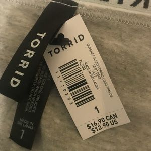 torrid Intimates & Sleepwear - Torrid Logo Cotton Boyshort Panty